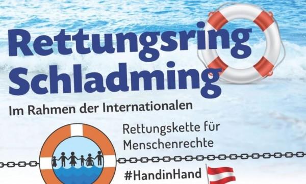 Rettungskette für Menschenrechte