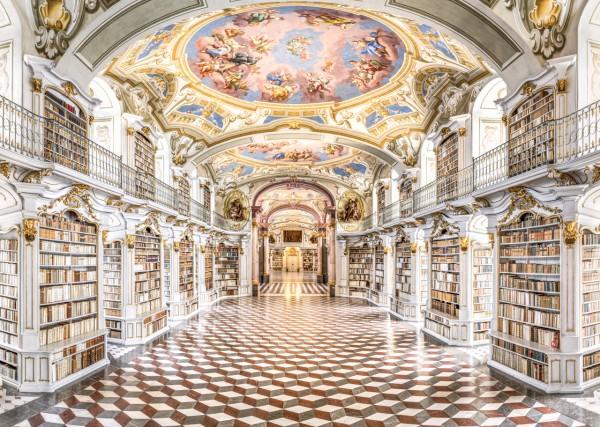 Klosterbibliothek des Stift Admont täglich geöffnet