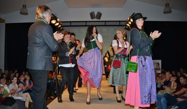 Modenschau bei Tracht & Mode Steinhuber