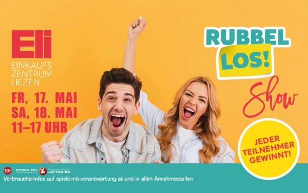 Rubbellos-Show im ELI am 17. und 18. Mai 2018