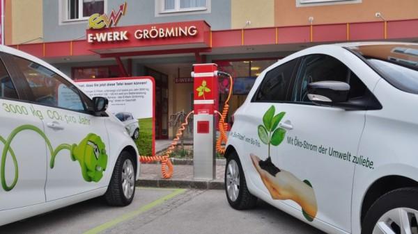 E-Auto Stammtisch in Gröbming