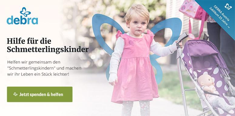 DEBRA Austria - Hilfe für Schmetterlingskinder