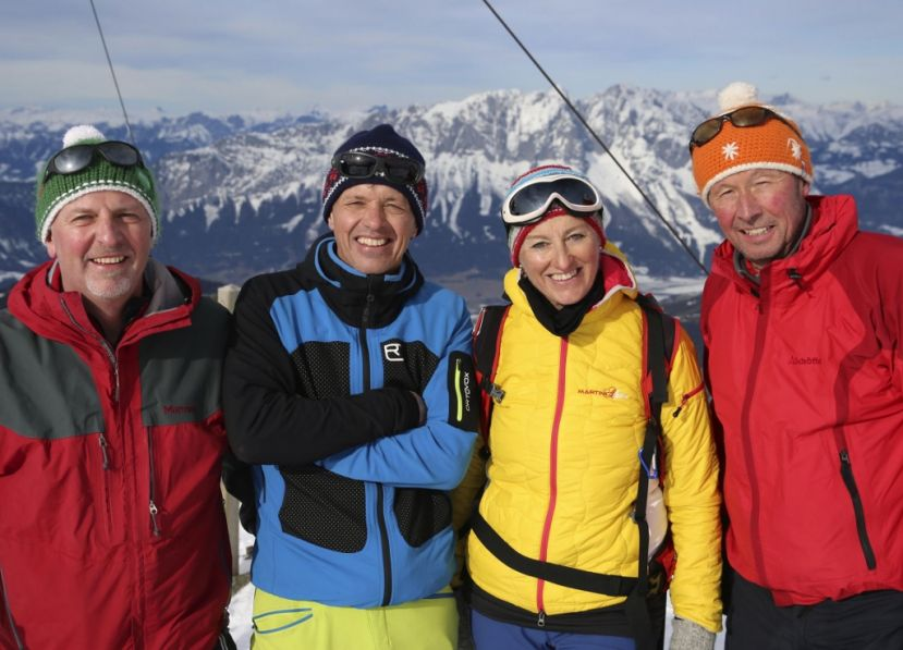 Volkhard Maier, Herbert Raffalt, Marietta Reiter, Michael Pause