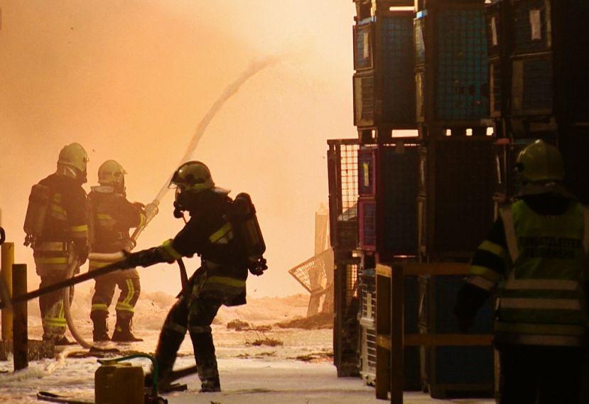 Großbrand in Altenmarkt